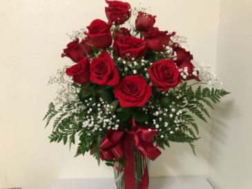 Two dozen Red Roses Valentine Flowers