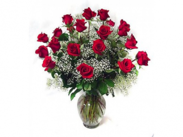 Two Dozen Roses Arrangement