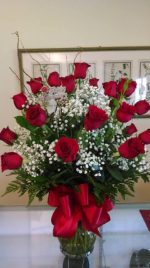 Two Dozen Roses Rose arrangement