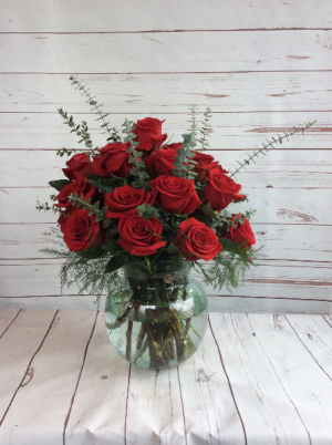 Roses Galore 18 * 24 * 36 Rose Vase in Culpeper, VA | ENDLESS CREATIONS FLOWERS AND GIFTS