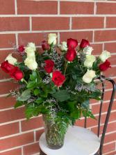 Two Dozen Stunner 2 dozen multi-color roses