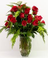 Two Dozen Winter Roses Fresh design
