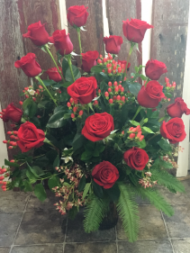 Two Dozen Wowzer Rose Arrangement