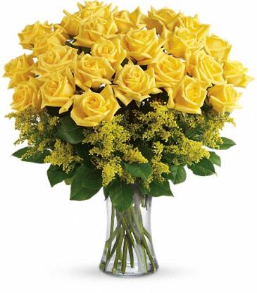 Two Dozen Yellow Roses !!