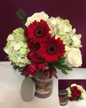 Two Gifts In One Flower Arrangement in Sutton, MA | POSIES 'N PRESENTS