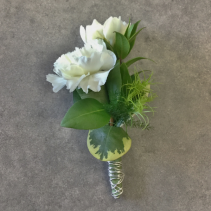 Two Of A Kind Boutonniere