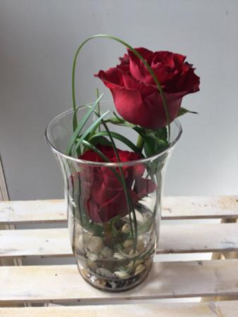 Two of a Kind Vase arrangement
