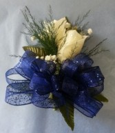 Two rose wrist corsage