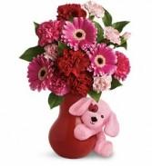 Send a Hug Sweetheart Valentine's Gift Arrangement
