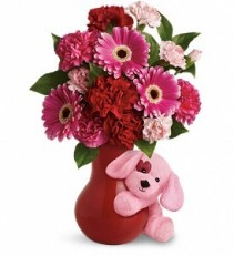 Send a Hug Sweetheart Valentine's Gift Arrangement