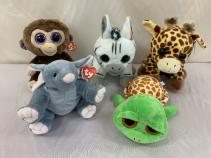 TY Stuffed Wild Animals Gift Items