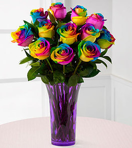 Tye Dye Roses