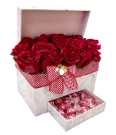 Ultimate Appreciation Boxed Roses & Chocolates