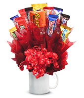 Ultimate Candy Bouquet gift basket