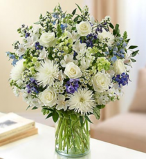 Ultimate Elegance™ - Blue and White Arrangement