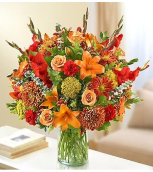 Ultimate Elegance™ Fall Arrangement in Croton On Hudson, NY | Cooke's Little Shoppe Of Flowers