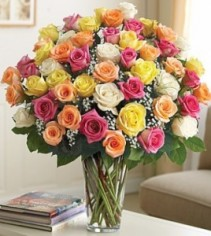 Ultimate Elegance Long Stem Assorted Roses **LIMITED TIME OFFER**