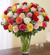 Ultimate Elegance™ Long Stem Assorted Roses rose