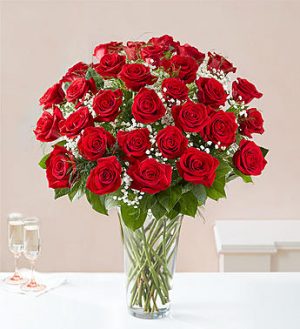 Ultimate Elegance™ Long Stem Red Roses  in Valley City, OH | HILL HAVEN FLORIST & GREENHOUSE