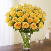 Ultimate Elegance™ Long Stem Yellow Roses