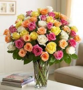 Ultimate Elegance Premium Long Stem Assorted Roses Ultimate Gift