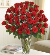 Ultimate Elegance™ Premium Long Stem Red Roses Valentine
