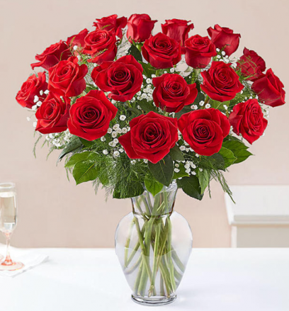 Ultimate Elegance Roses - Your Color Choice 2 DOZEN LONG-STEMMED
