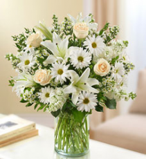 Ultimate Elegance White Arrangement