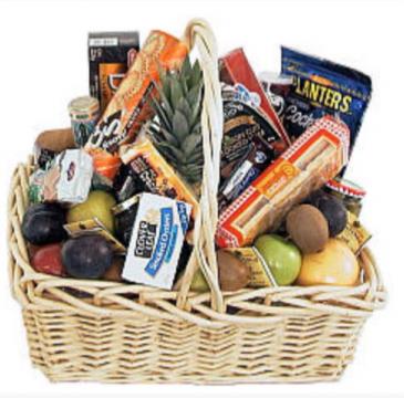 Ultimate gourmet basket Gift basket