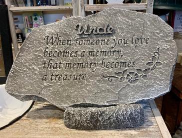Uncle Memorial Stone Memorial Stone