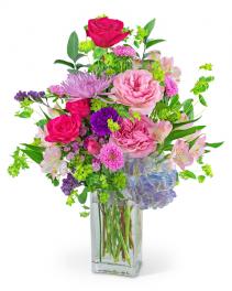 Unconditional Love Flower Arrangement