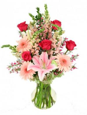 Unconditionally Bouquet in Clinton, MS | DEE'S FLOWER SHOP