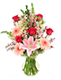 Pink Princess Vase Arrangement