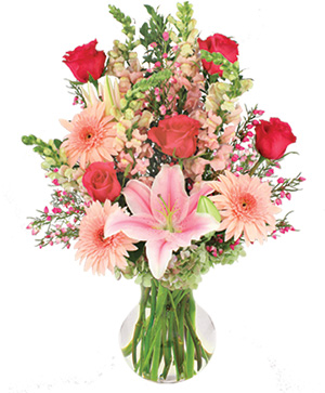 Unconditionally Bouquet in Clinton, MA | VARISE BROS. FLORIST