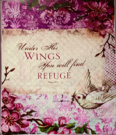 Under His Wings Quilt/Throw