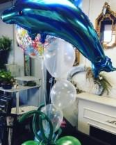 Under the Sea Balloon Centerpiece