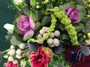 Underwater Garden Vase Arrangement in Northport, NY | Hengstenberg's Florist