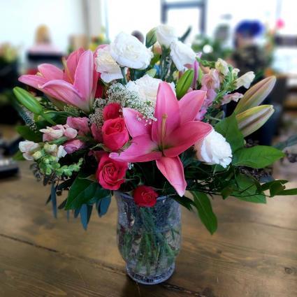 Unfading Elegance Vased Arrangement