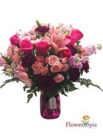 Unforgettable Day Flower Arrangement