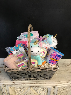 Unicorn Basket  in Milton, FL | PURPLE TULIP FLORIST INC.