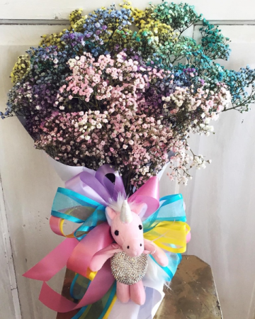Unicorn Bouquet Miss Mississippi Pageant