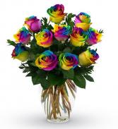 Unicorn Dozen Roses