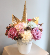 UNICORN FANTASY FLORAL ARRANGEMENT