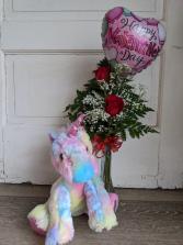 Unicorn Spirit Floral Arrangement