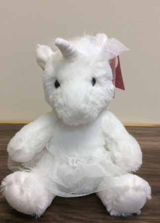 Unicorn with tutu Plush dance gift