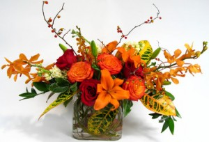 Unique Fall Arrangement   in Bedford, NH | Dixieland Florist & Gift Shop Inc.