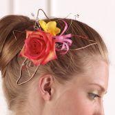 Unique Hair Piece  Graduation Flowers to Wear