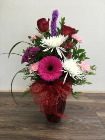 Unique like you Vase arrangement