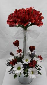 Unique Love Topiary Valentine's Day
