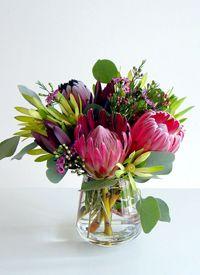 Unique Protia Vase Arrangement